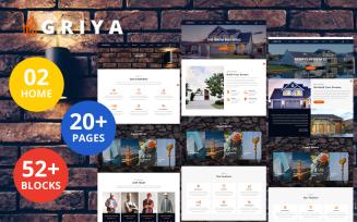 Griya - Construction HTML5 Template