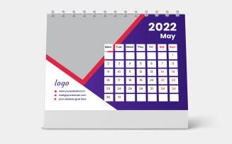 Personalised Desk Calendar 2022 Template