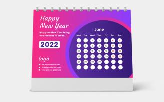 Desk Calendar 2022 Template