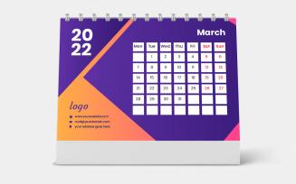 Desk Pad Calendar 2022 Template