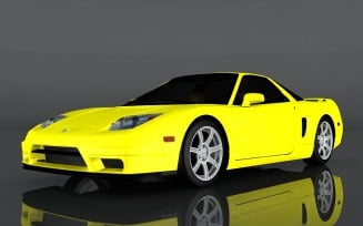 2005 Acura NSX RS 3d model