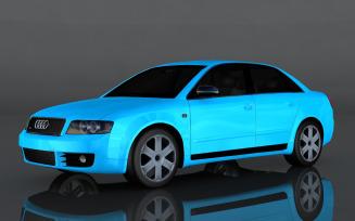 2004 Audi S4 quattro3d model