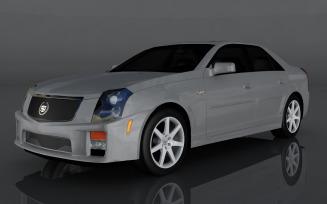 2004 Cadillac CTSV 3d model