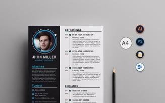 Clean & Modern Resume Template