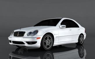 2004 Mercedes-Benz C32 AMG 3d model
