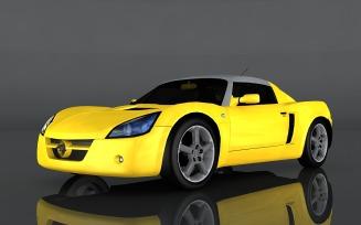 2004 Opel Speedster Turbo 3d model
