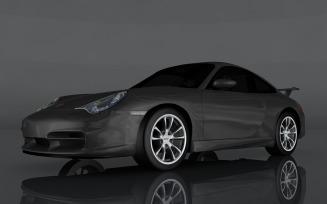 2004 Porsche 911 GT3 996 3d model