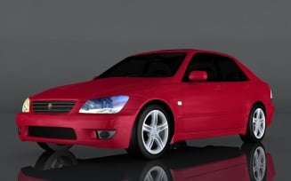 2004 Toyota Altezza RS200 3d model