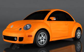 Volkswagen Beetle Turbo 3d model