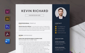 Elegant Resume Or CV Template