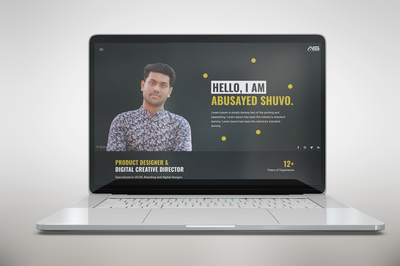 Shuvo   Personal Hotspot HTML5 Landing Page Template