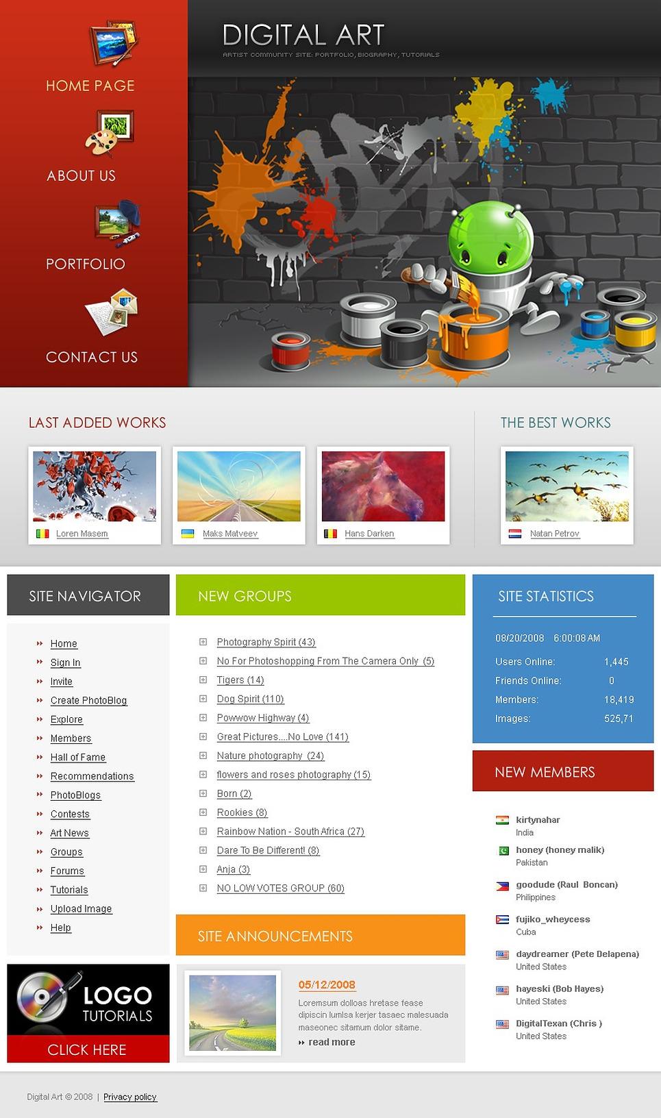 Template siti web per un sito di design studio for Siti web di home plan