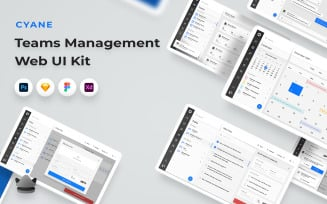 Cyane - Teams Management Web UI Kit