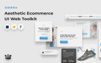 Sierra - Elegant E-commerce UI Toolkit