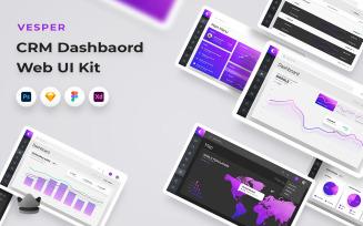 Vesper - Business And Dashboard Web UI Kit