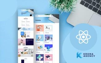 Kroma | Easy Multipurpose Agency React Website Template