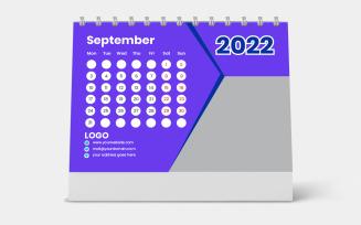 Purple Design Calender 2022