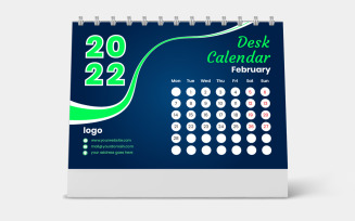 Set of 12 Months Calendar 2022 Week Starts Monday