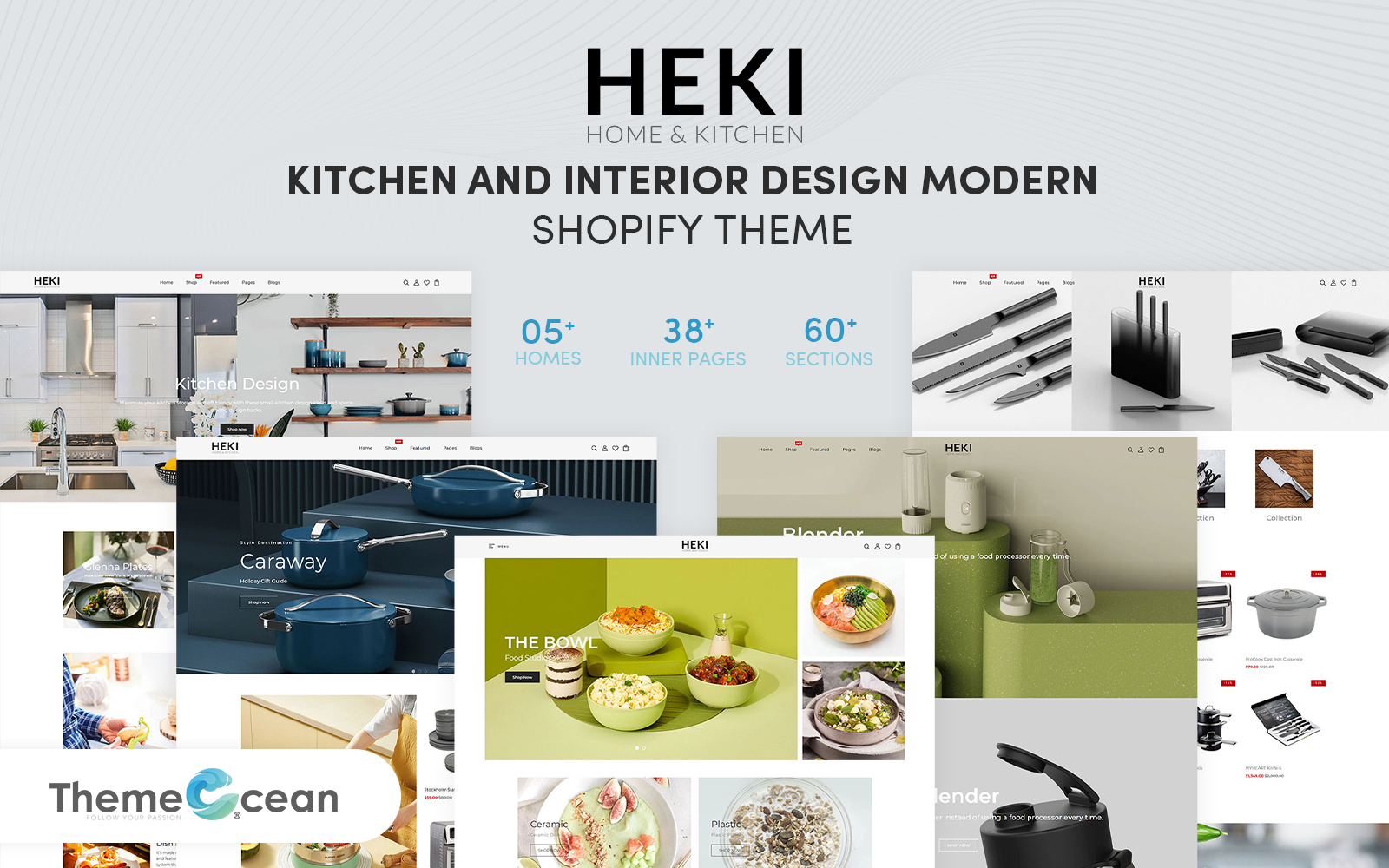 Heki - Kitchen & Interior Design Modern Shopify Theme