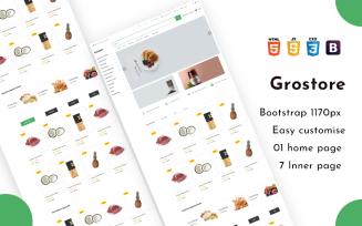 Grostore - Ecommerce Shop HTML5 Website Template