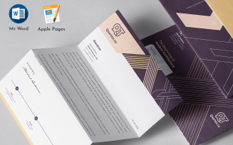 Editable Letterhead Template Ms Word Apple Pages Format