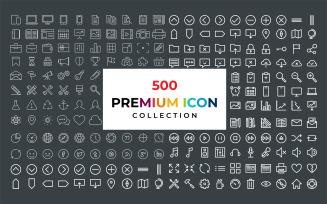 Premium Line Iconset Collection