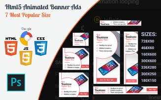 Apper - New Business Html5 Banner Template