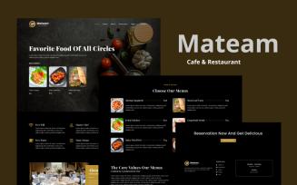 Cafe & Restaurant Elementor Template Kit