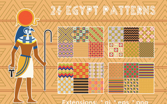 24 Egypt Pattern s Background