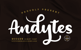 Andesytes - Script Handwitten Font