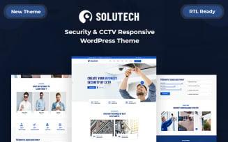 Solutech - Security & CCTV Responsive WordPress Theme