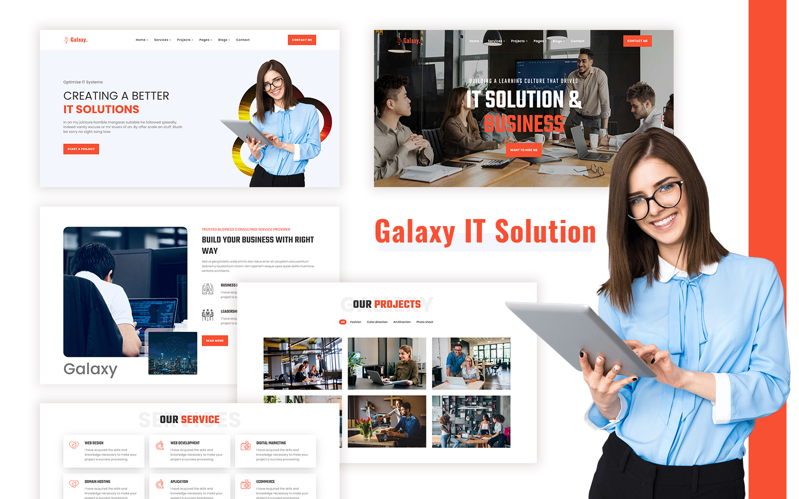 Galaxy - IT Solution HTML Template