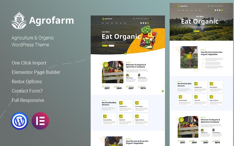 Agrofarm – Agriculture & Organic WordPress Theme