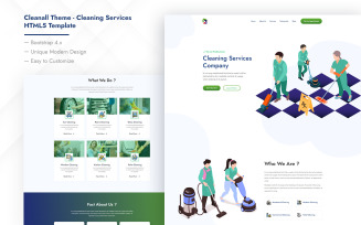 Cleanall Theme - Cleaning Services HTML5 Template