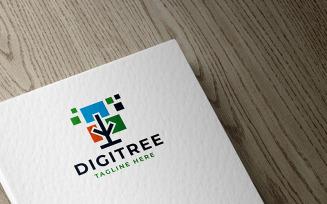 Digital Tree Professional Logo template