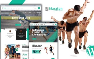 Maraton - Marathon WordPress Theme