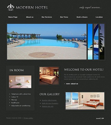 Website Template #18889