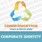 Communications Corporate Identity Template 18893
