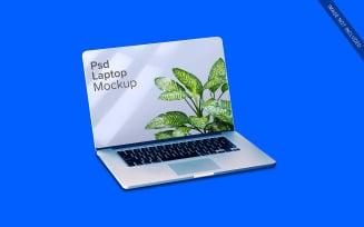 Laptop Mockup Design Screen Presentation