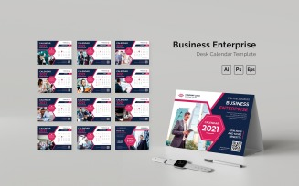 Business Enterprise Desk Calendar