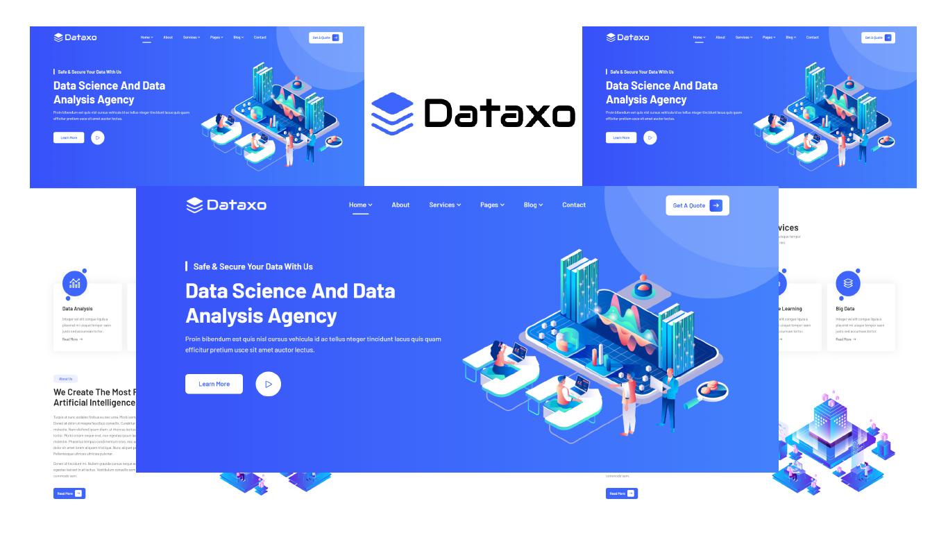 Dataxo – Data Science & Analytics Bootstrap 5 HTML Template