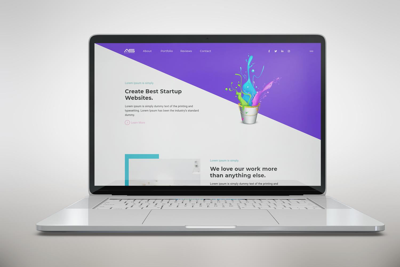 Shuvo   Minimal Startup HTML5 Landing Page Template