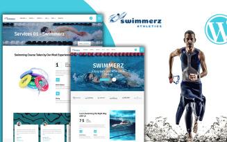 Swimmerz - Swimming Service WordPress Theme