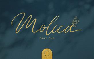 Molica - Beautiful Font Duo