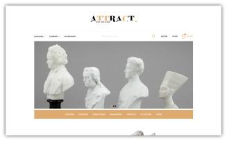 Attract - Art Store Opencart Theme