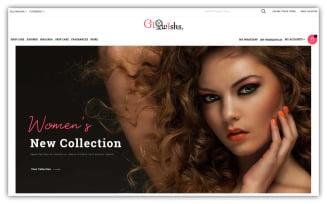 Glowishs - Cosmetic Store Opencart Theme