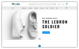Shoosly - Shooes Store Opencart Theme