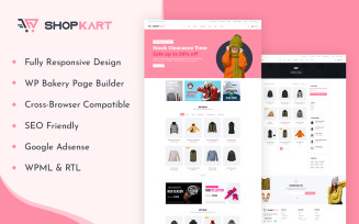 ShopKart - WooCommerce WordPress Theme