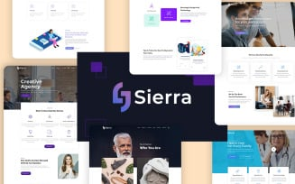 Sierra - Creative & Modern Multipurpose WordPress Theme