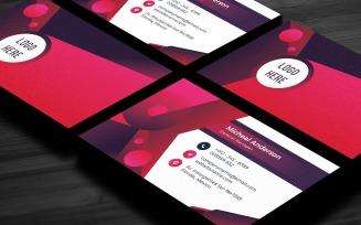 Corlx- Modern Corporate Business Card Template